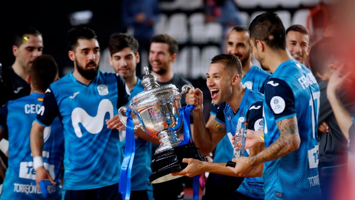 El Inter Movistar, campeón de Copa del Rey. (EFE)