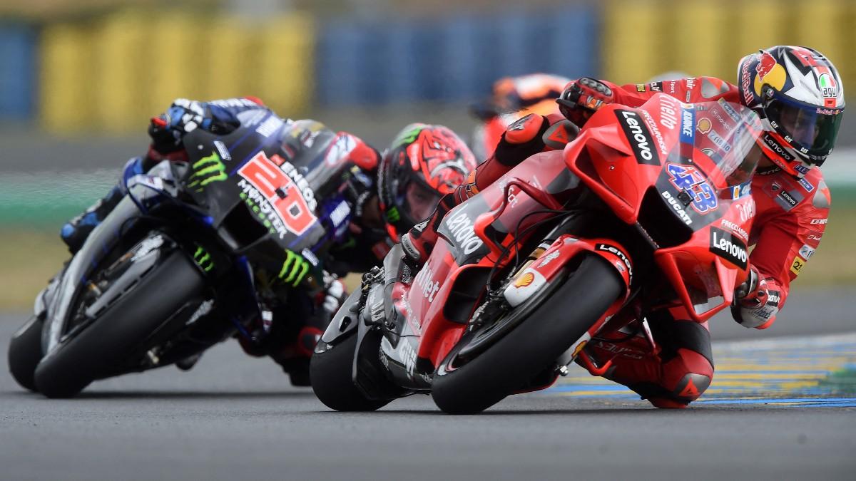 Jack Miller ganó en Le Mans. (AFP)