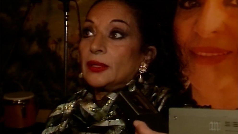 26 años de la muerte de Lola Flores