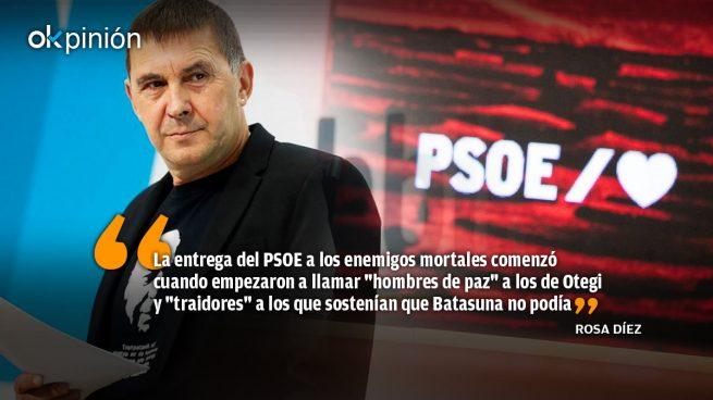 El PSOE se ha rendido a los enemigos de la democracia