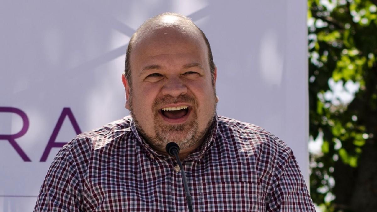 Esteban Tettamanti, concejal de Podemos en San Lorenzo de El Escorial. (Foto: Sí se puede San Lorenzo)