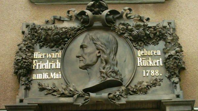 Las frases del poeta Friedrich Rückert en el día de su nacimiento