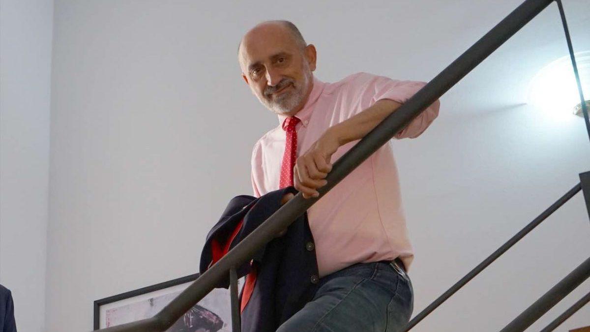 Luis Ángel Hierro, candidato a las primarias del PSOE-A.
