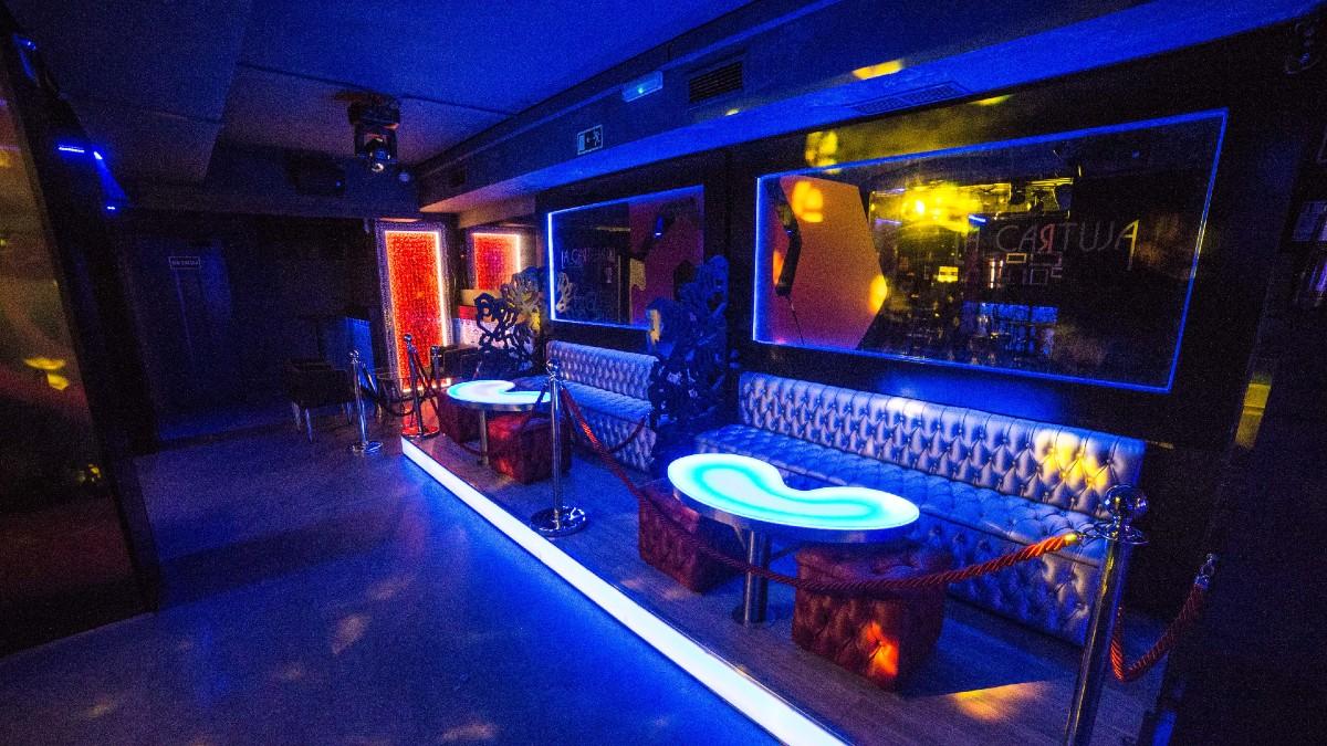 Discoteca de Madrid.