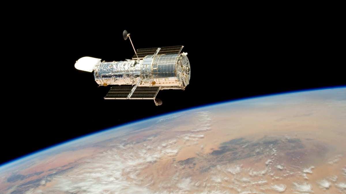 El telescopio Hubble avanza