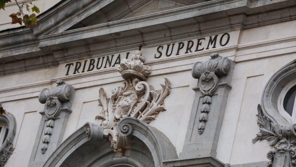 Fachada del Tribunal Supremo (Europa Press).