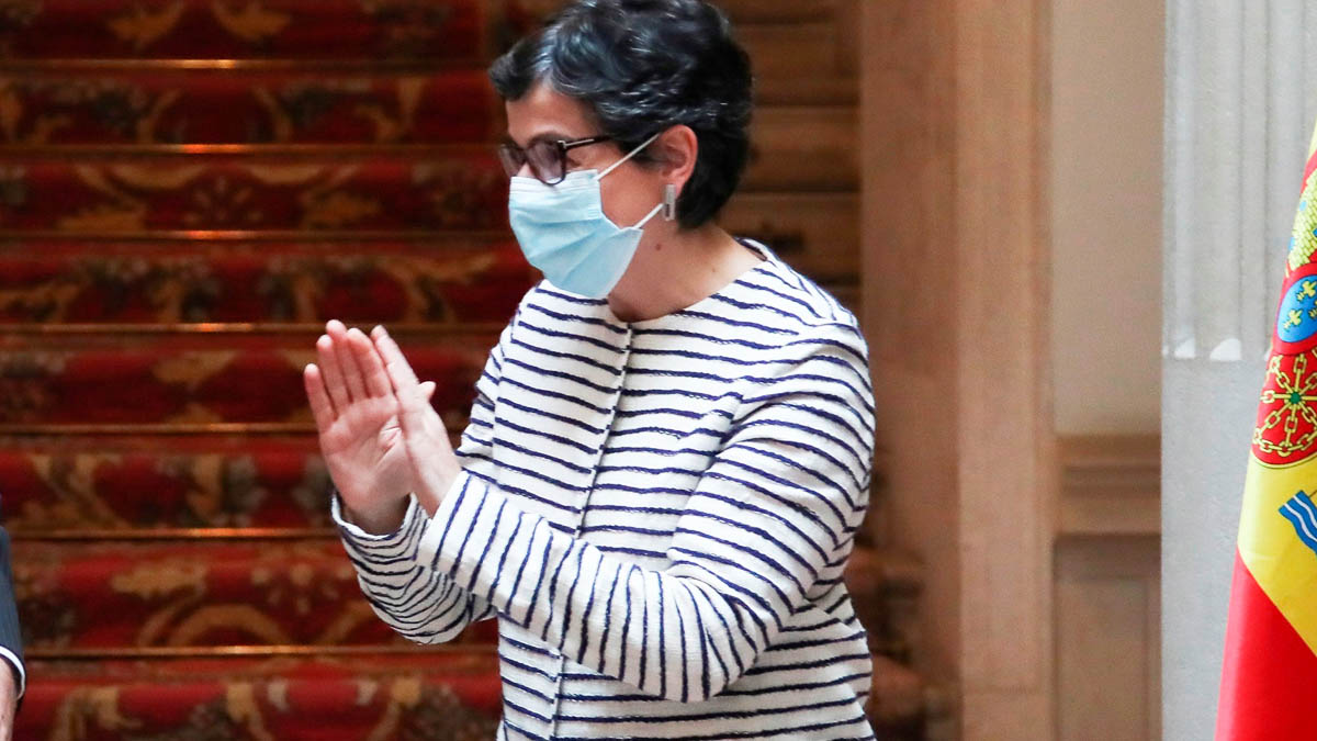 La ministra de Exteriores Arancha González Laya. (Foto: EFE)