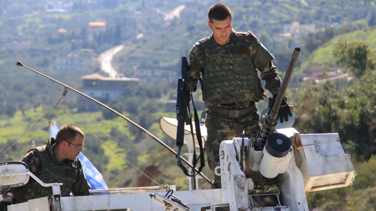 Militares españoles en Líbano (Foto de archivo de Defensa).