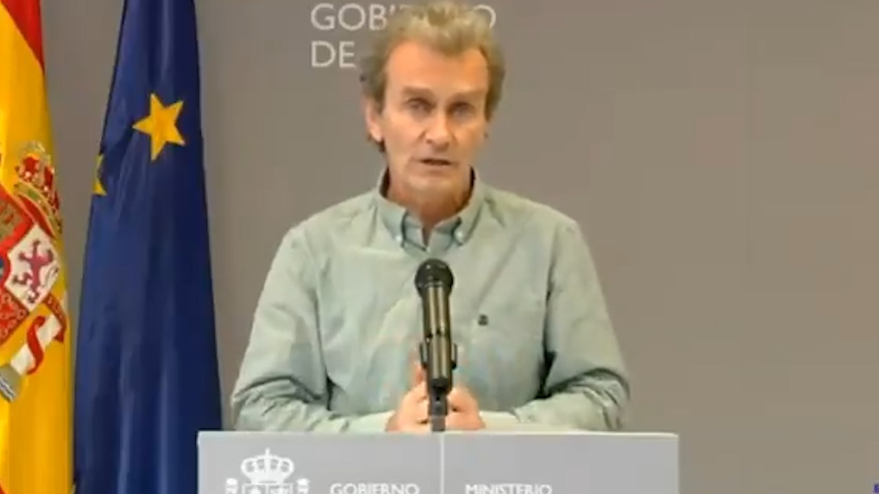 Fernando Simón, director del Centro de Alertas y Emergencias.