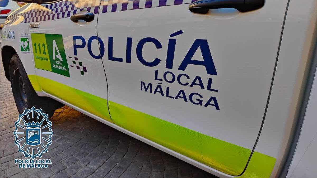 Policía Local de Málaga.