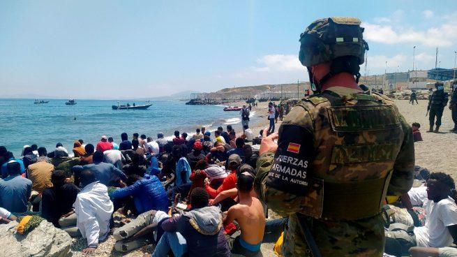 inmigrantes ilegales Ceuta