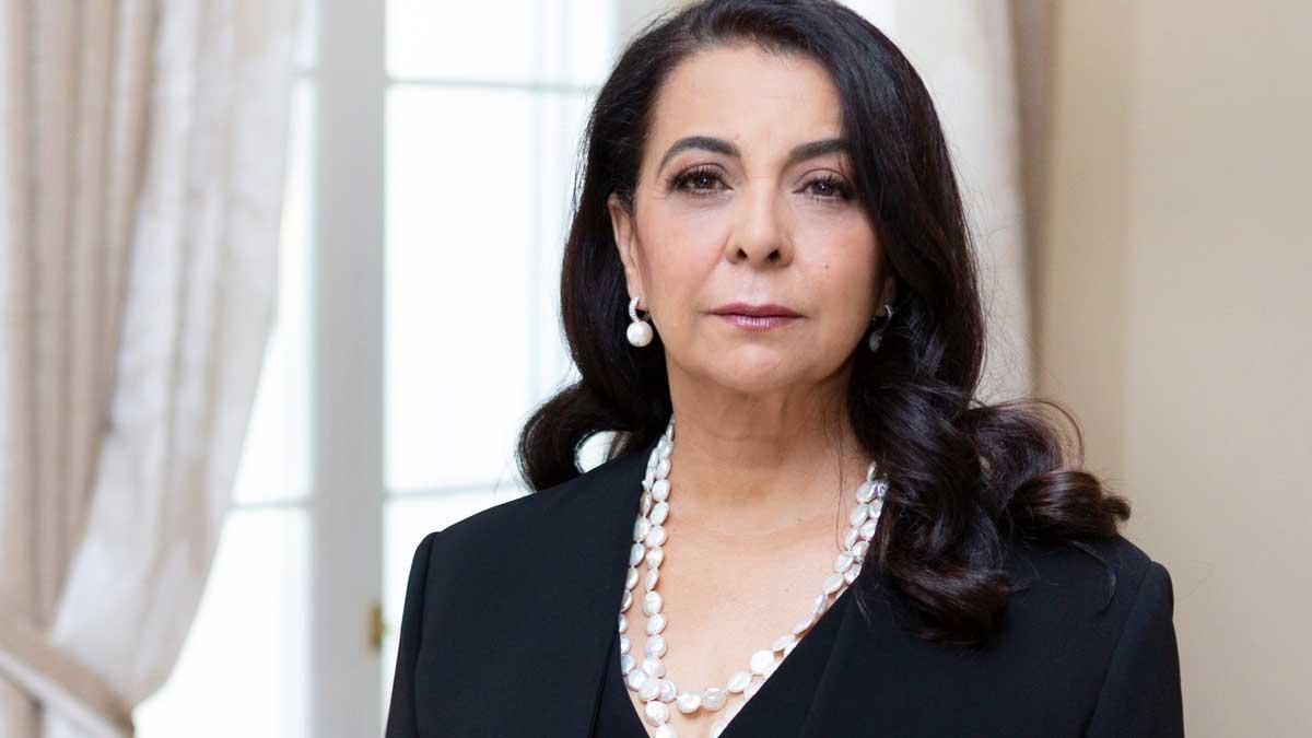 La embajadora de Marruecos en España, Karima Benyaich. Foto: EP
