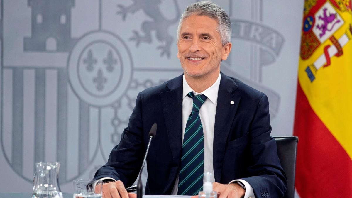 El ministro de Interior, Fernando Grande-Marlaska. (Foto: Efe)