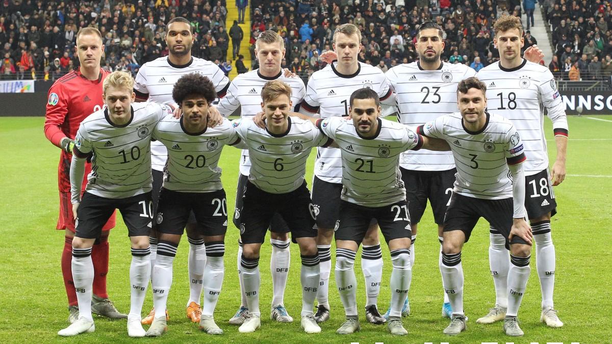 Los jugadores de Alemania. (AFP)