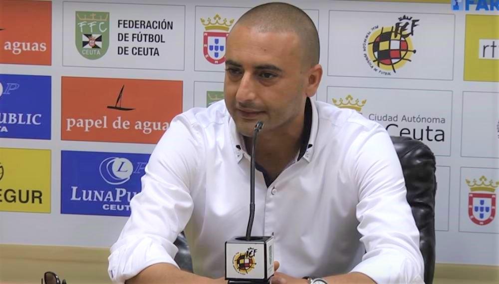 Luhay Hamido, presidente de la AD Ceuta