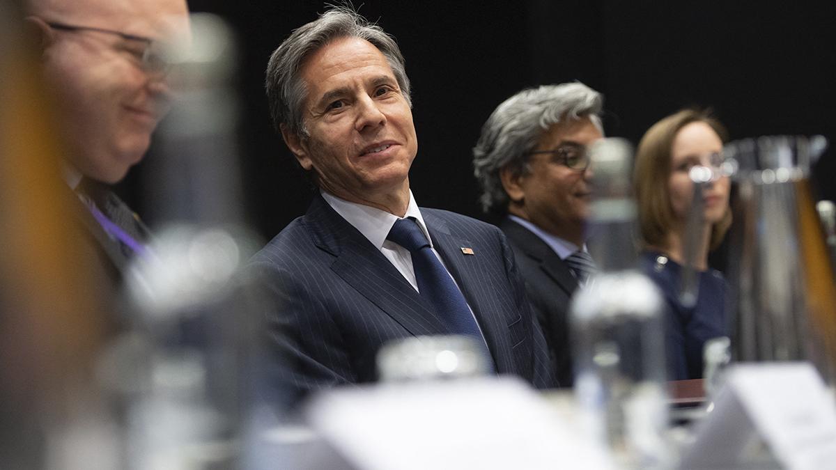 Secretario de Estado de EEUU, Antony Blinken.