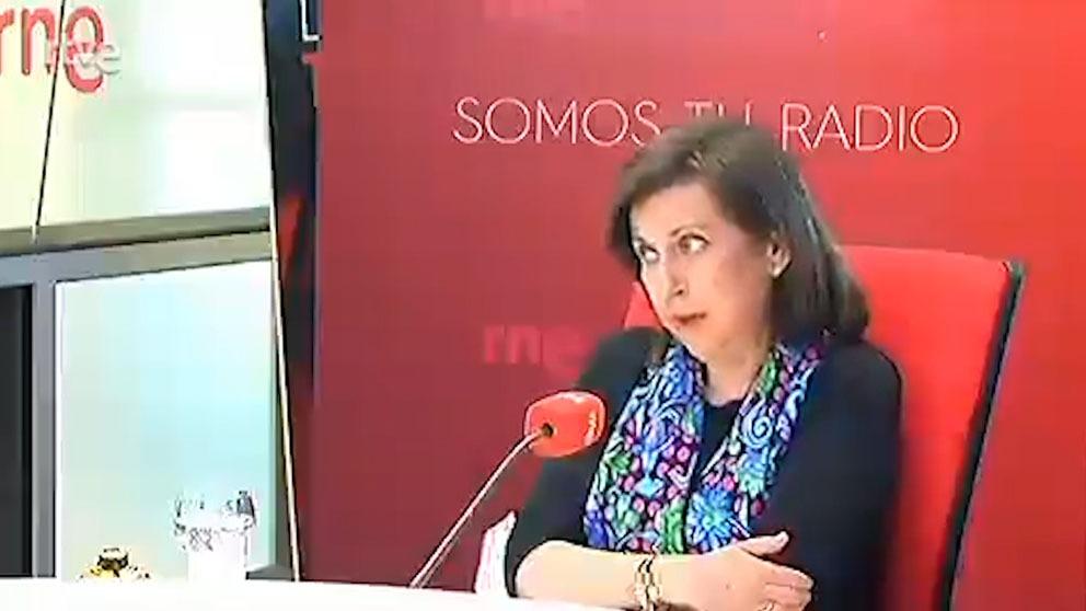 Margarita Robles en RNE.