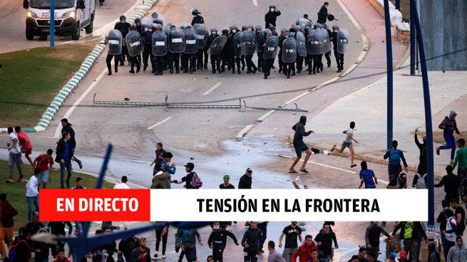 Ceuta: última hora de la entrada de inmigrantes masiva desde Marruecos, en directo
