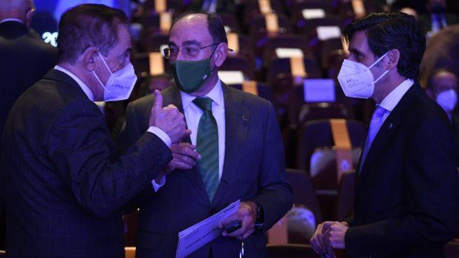 Botín, Goirigolzarri, Escarrer, Brufau, Álvarez, Isla y Del Pino se niegan a ir al show de Sánchez
