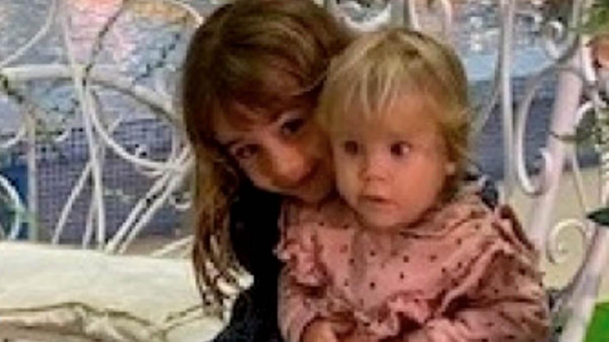 Las niñas de Tenerife, Olivia y Anna.