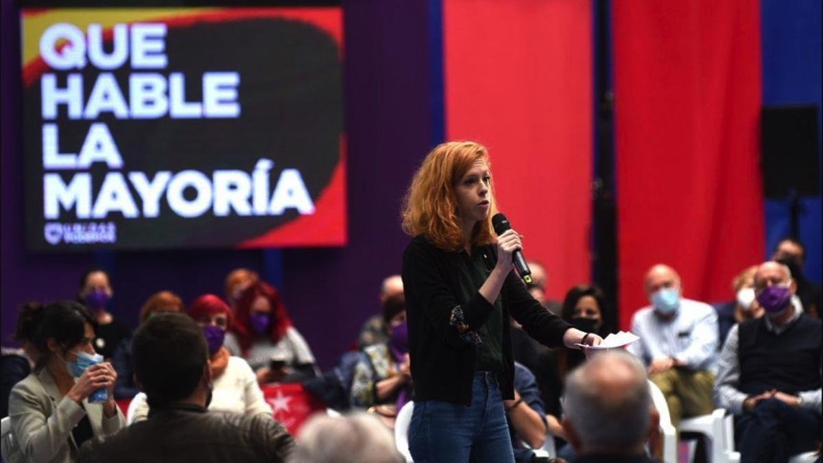 Lilith Verstrynge en la campaña electoral. (Foto: Podemos)