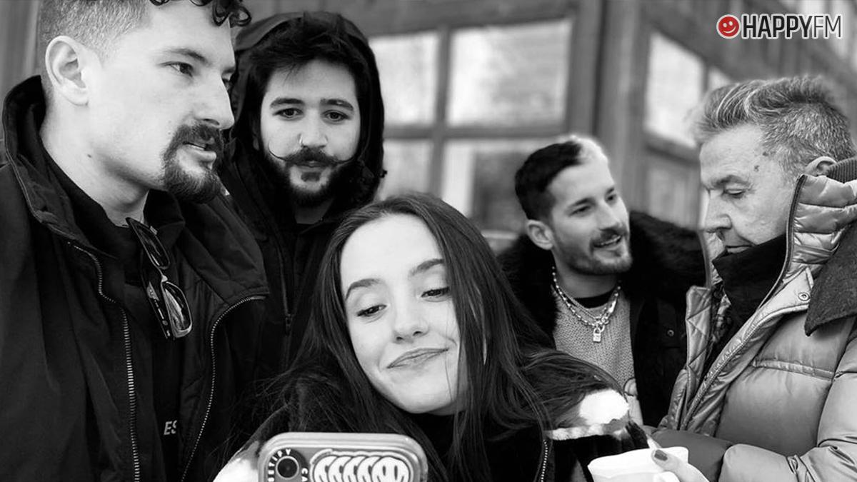 Camilo, Evaluna, Ricky, Mau y Ricardo Montaner