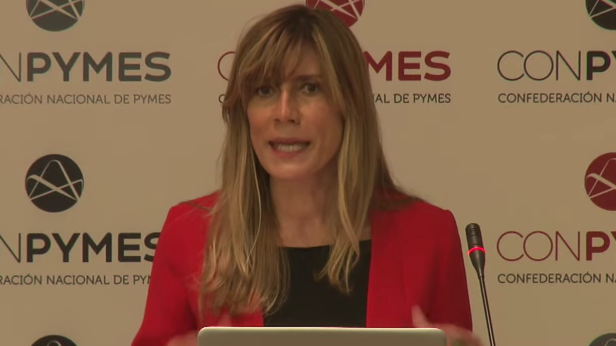Begoña Gómez, esposa del presidente del Gobierno.