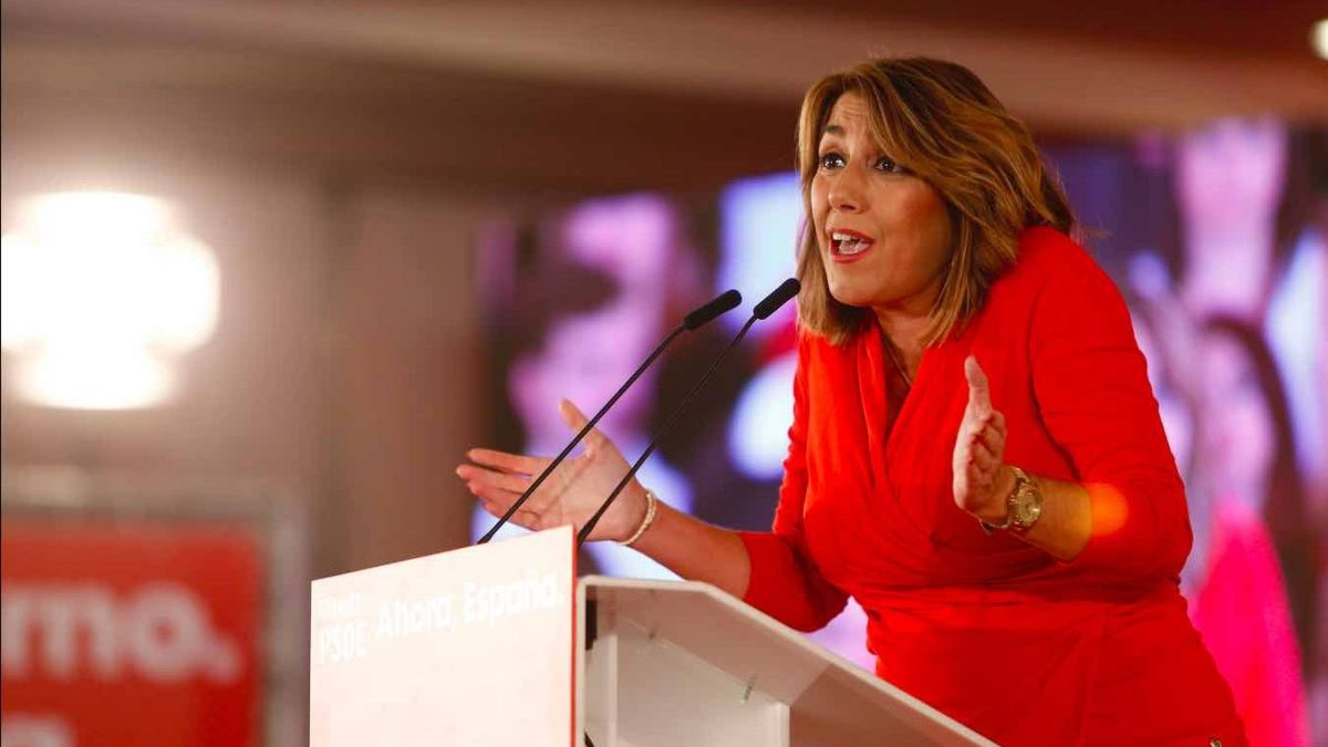 Susana Díaz, secretaria general del PSOE-A (Álex Cámara / Europa Press).