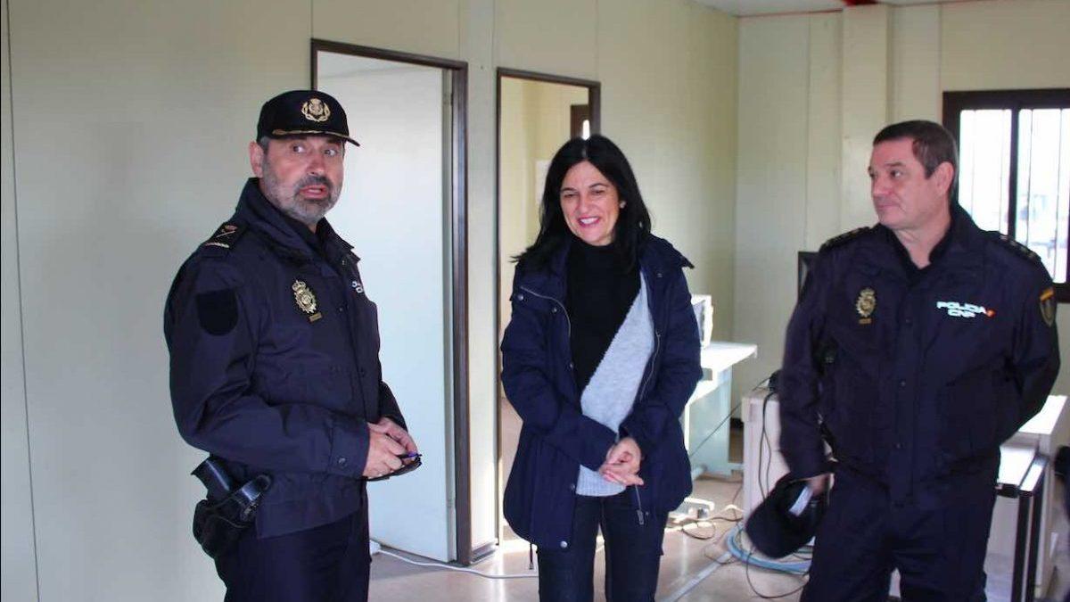 Visita de la subdelegada del Gobierno en Granada, Inmaculada López Calahorro, al CATE de Motril (Subdelegación del Gobierno).