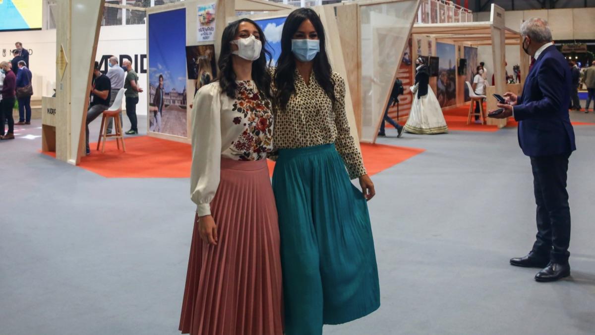 Inés Arrimadas y Begoña Villacís en una reciente visita a Fitur.