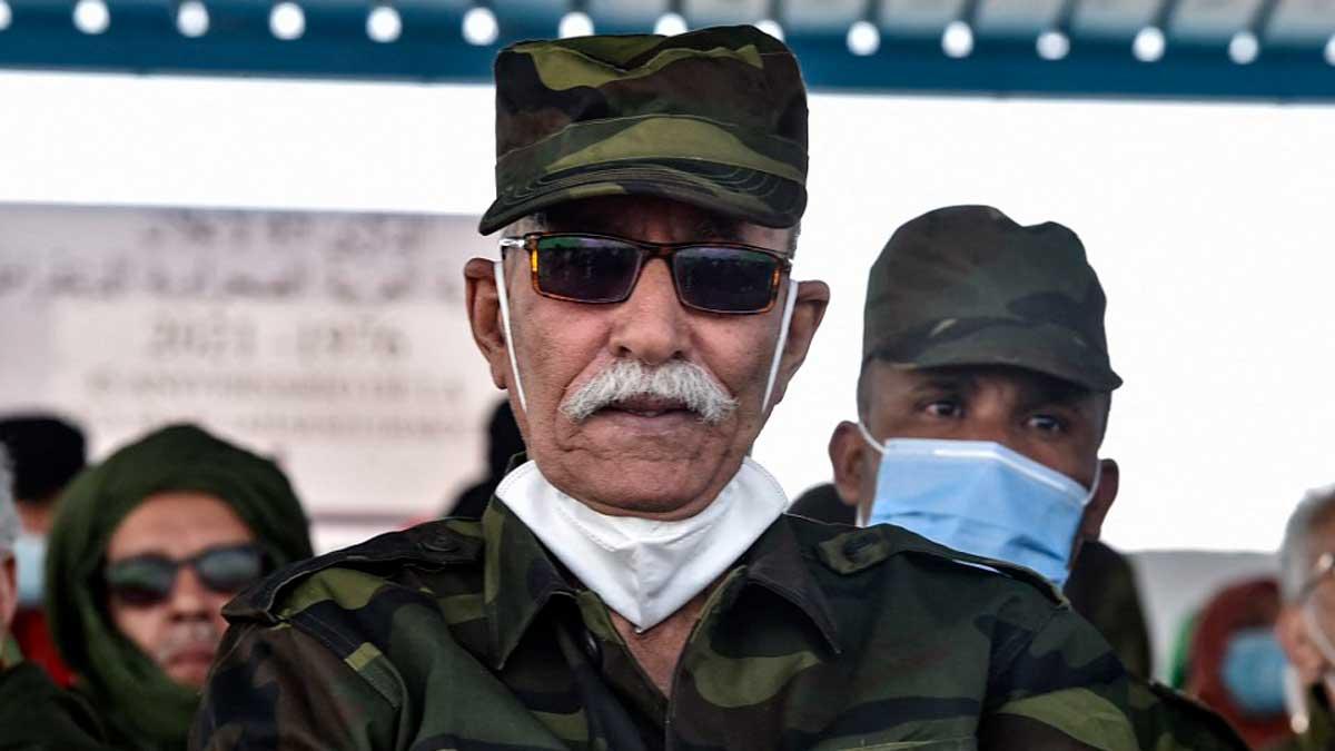 Brahim Ghali, líder del Frente Polisario. Foto: AFP