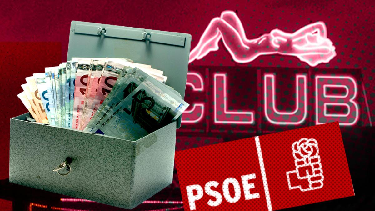 La Faffe del PSOE-A tenía una 'caja B' para ocultar los gastos en prostíbulos.