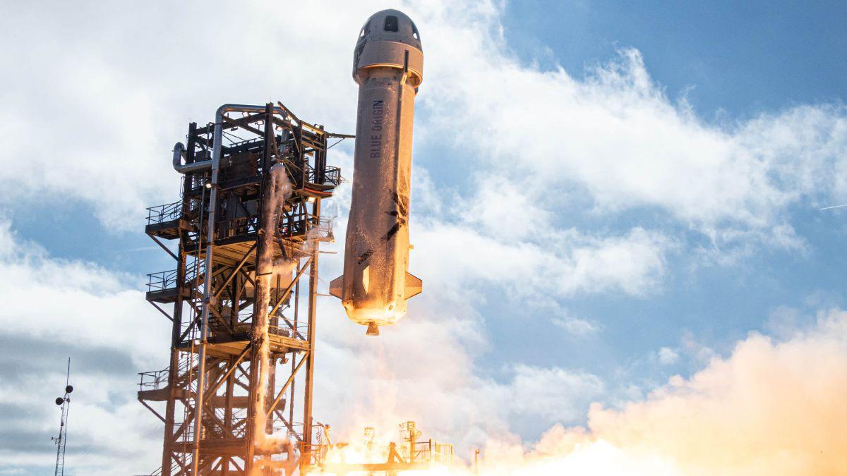 Os desvelamos cuánto cuesta el precio para volar en el cohete de Jeff Bezos