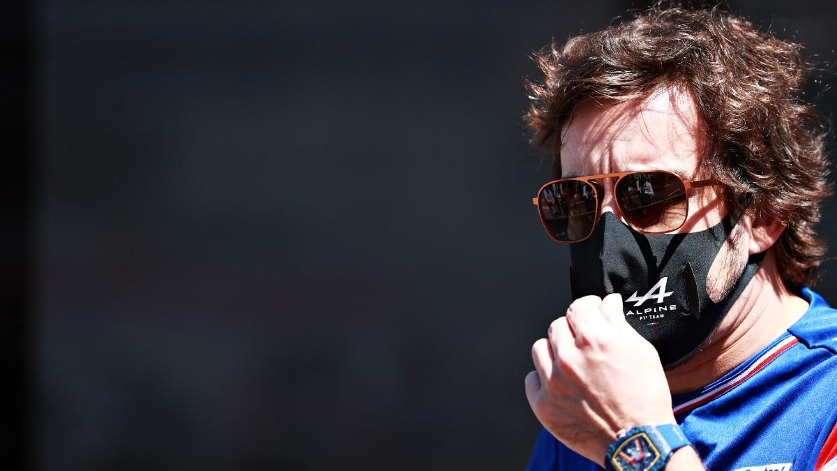 Fernando Alonso, en Mónaco. (Getty)