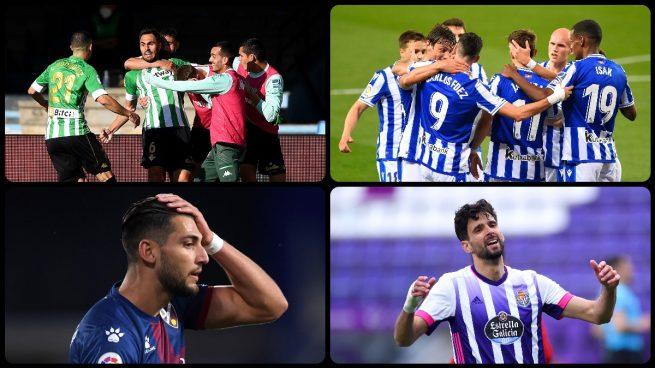Real Sociedad y Betis jugarán la Europa League y Valladolid y Huesca bajan a Segunda