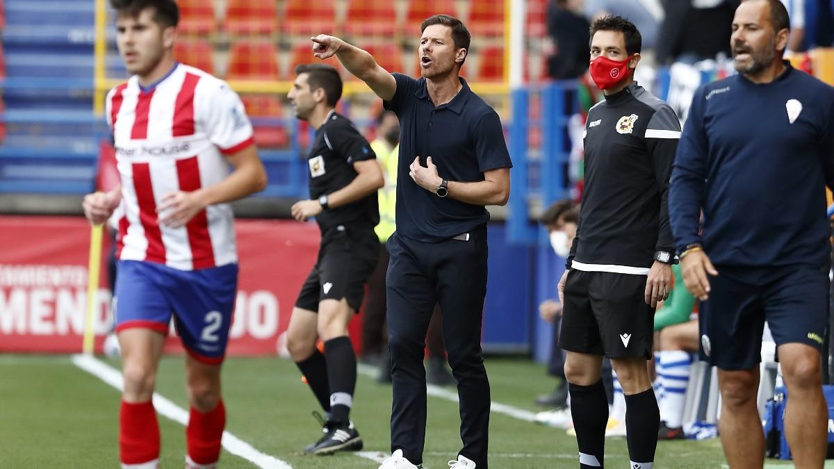 Xabi Alonso, durante un partido. (RFEF)