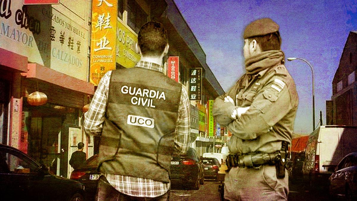 Macrooperación de la UCO contra una mafia china.