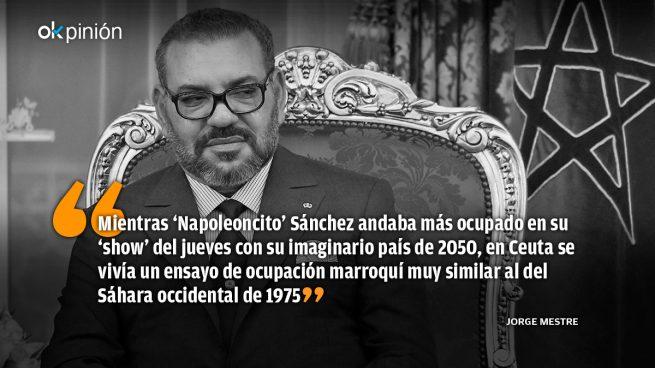 Las 'balas humanas' de Mohammed VI