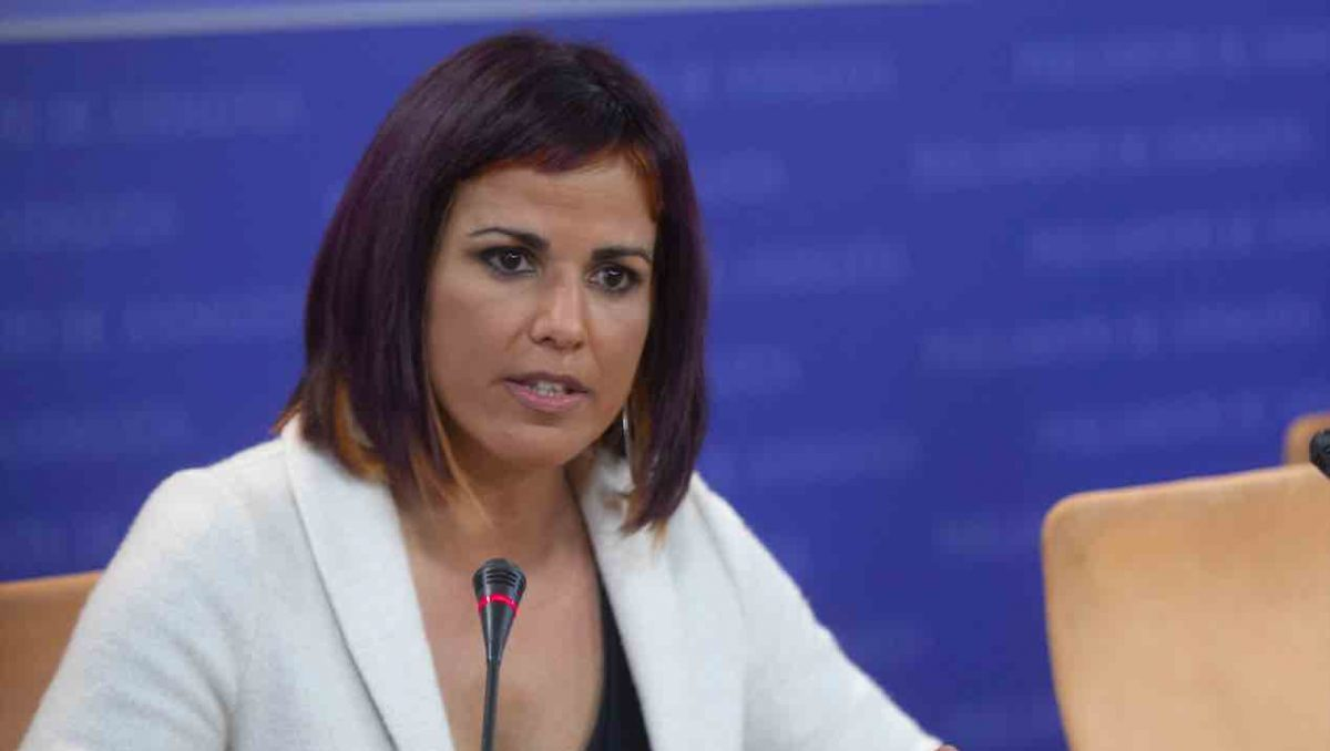 Teresa Rodríguez, diputada no adscrita y líder de la refundada Adelante Andalucía (Foto: MARÍA JOSÉ LÓPEZ / EUROPA PRESS).
