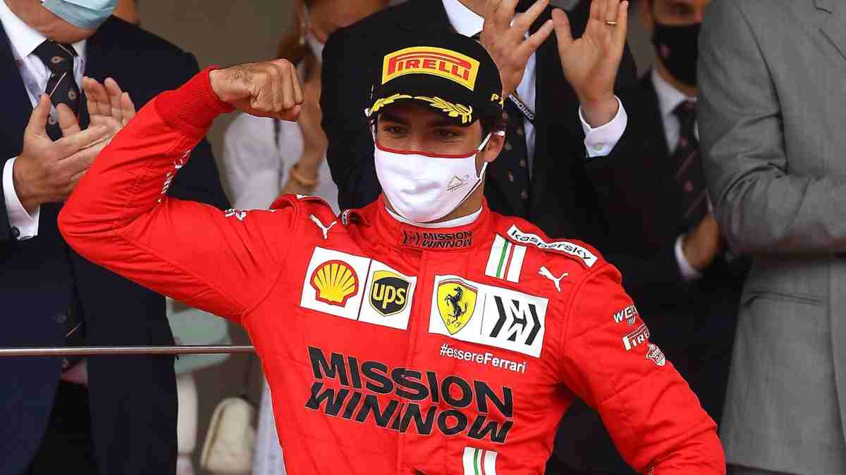 Carlos Sainz, piloto de Ferrari. (@Carlossainz55)