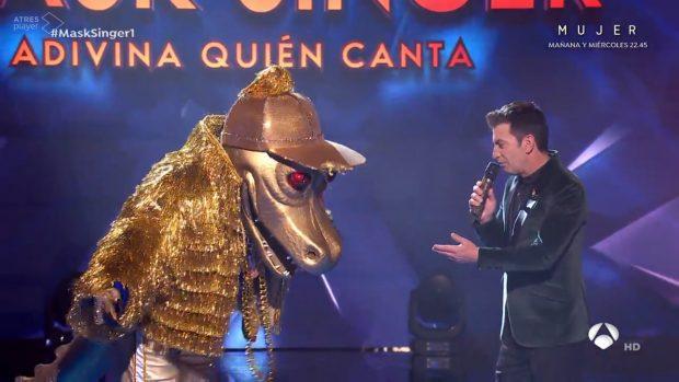 Cocodrilo debuta en 'Mask Singer'