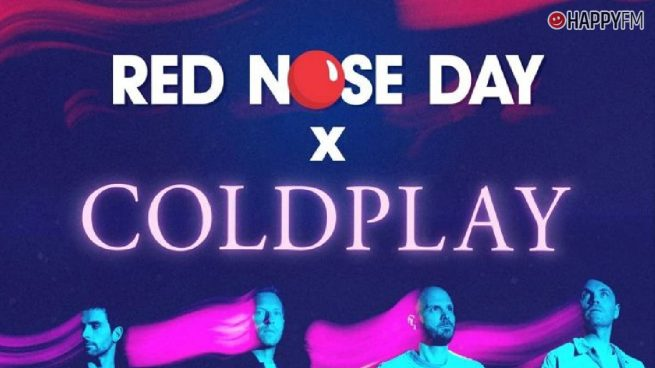 Red Nose Day y Coldplay