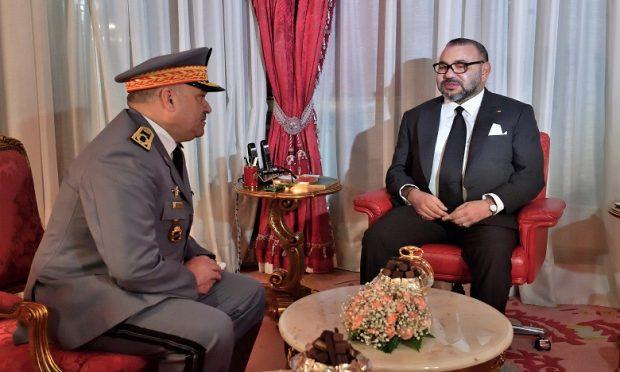 El general Haramou y Mohamed VI