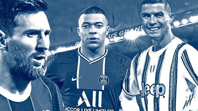 Messi Cristiano Mbappé