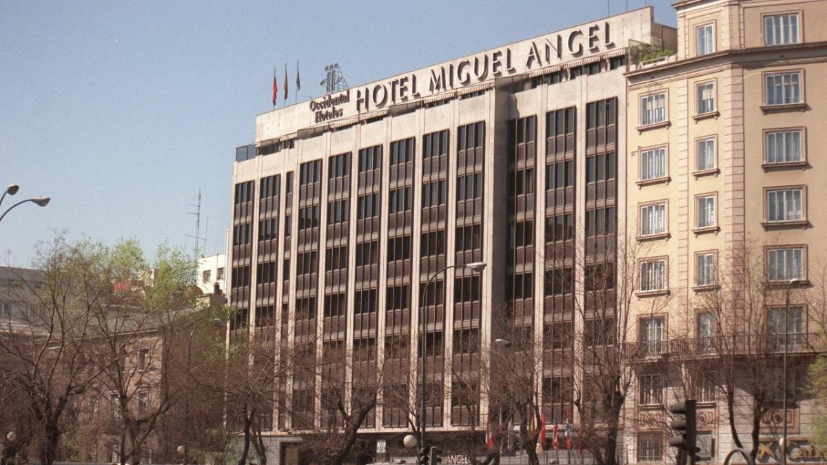 Hotel Miguel Ángel, en Madrid.