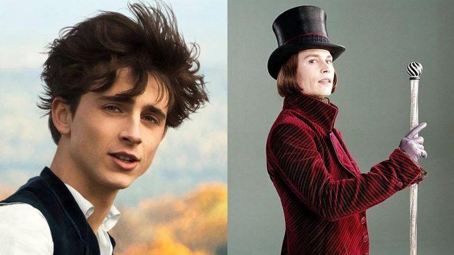 Timothée Chalamet será Willy Wonka