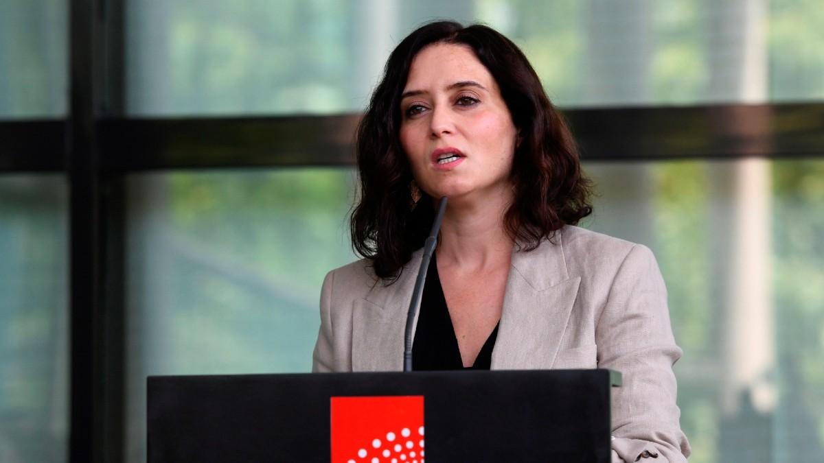 Isabel Díaz Ayuso, presidente de la Comunidad de Madrid.