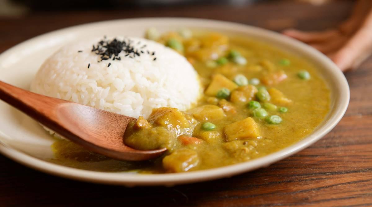 Curry vegano, receta especial