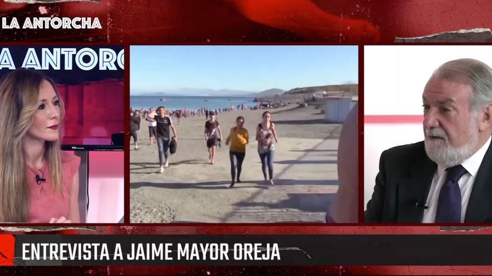 Jaime Mayor Oreja en La Antorcha de OKDIARIO