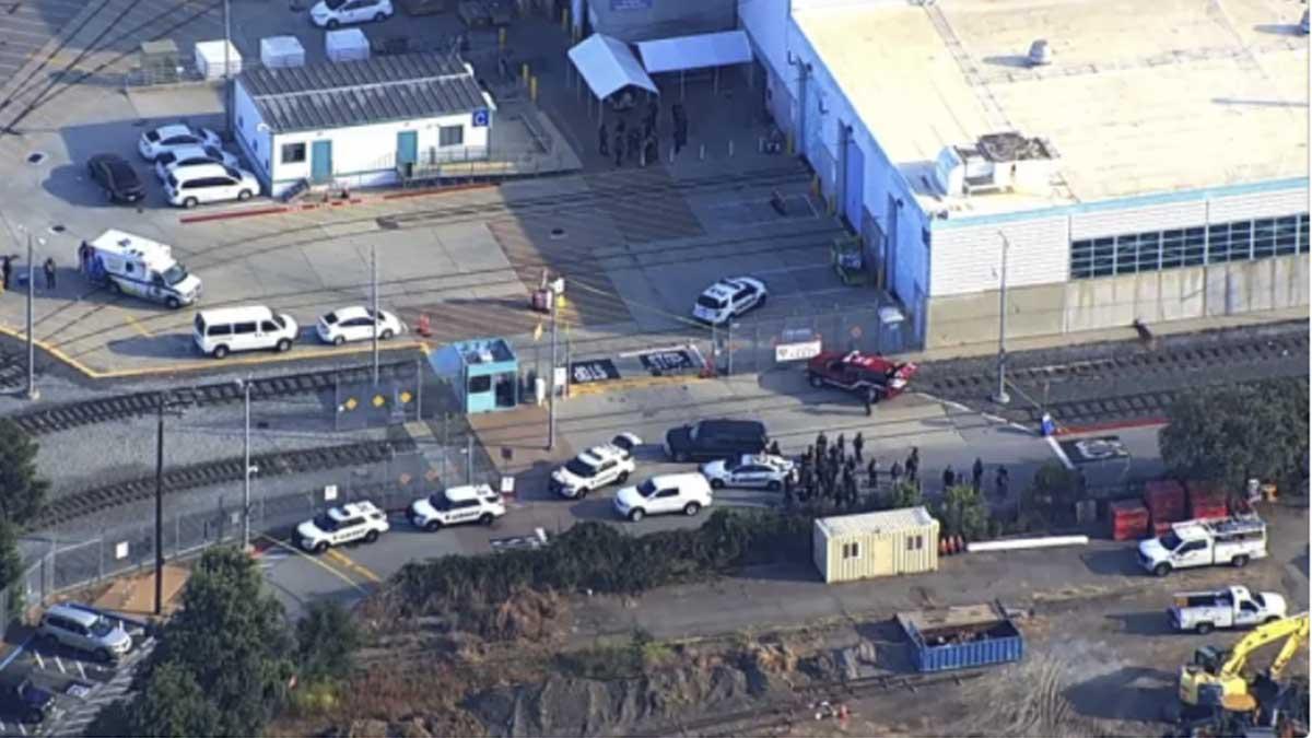Lugar del tiroteo en San José (California). Foto: CNN